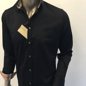 Burberry Brit Men Casual Button Down Shirt